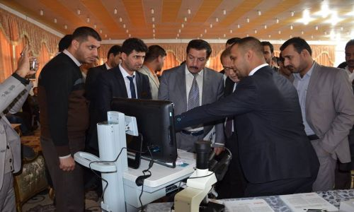 AL-MUBDAA Scientific Company in Workshop on modern techniques used in the semen examination